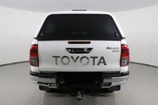 2016 Toyota Hilux GUN126R SR5 (4x4) White 6 Speed Automatic Dual Cab Utility