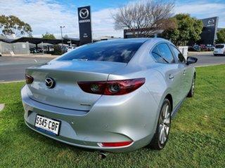 2019 Mazda 3 BP2S7A G20 SKYACTIV-Drive Evolve Silver 6 Speed Sports Automatic Sedan.