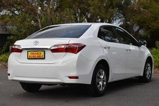 2015 Toyota Corolla ZRE172R Ascent S-CVT White 7 Speed Constant Variable Sedan