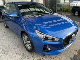 2018 Hyundai i30 PD Active Blue 6 Speed Manual Hatchback.