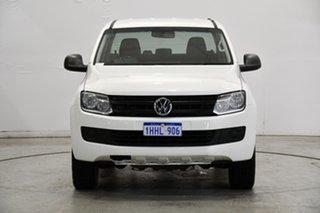 2015 Volkswagen Amarok 2H MY15 TDI420 4MOTION Perm Core White 8 Speed Automatic Utility.