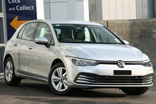 New Volkswagen Golf 8 MY21 110TSI Indooroopilly, 2021 Volkswagen Golf 8 MY21 110TSI Pomelo Yellow 8 Speed Sports Automatic Hatchback
