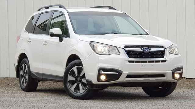 Used Subaru Forester S4 MY18 2.0D-L CVT AWD Clare, 2017 Subaru Forester S4 MY18 2.0D-L CVT AWD White 7 Speed Constant Variable Wagon
