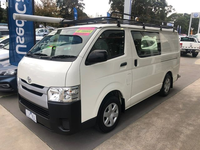 Used Toyota HiAce TRH201R LWB Berwick, 2016 Toyota HiAce TRH201R LWB White 6 Speed Automatic Van