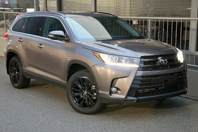 Pre-Owned Toyota Kluger GSU55R Black Edition AWD Preston, 2019 Toyota Kluger GSU55R Black Edition AWD Predawn Grey 8 Speed Sports Automatic Wagon