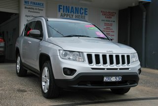 2012 Jeep Compass MK MY12 Sport (4x2) Silver Continuous Variable Wagon
