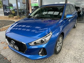 2018 Hyundai i30 PD Active Blue 6 Speed Manual Hatchback