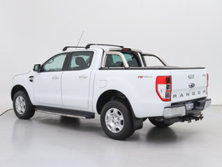 2017 Ford Ranger PX MkII MY17 Update XLT 3.2 Hi-Rider (4x2) White 6 Speed Automatic Crew Cab Pickup