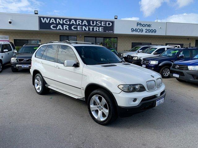 Used BMW X5 E53 3.0D Wangara, 2005 BMW X5 E53 3.0D White 6 Speed Automatic Wagon