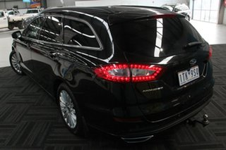 2016 Ford Mondeo MD Trend TDCi Black 6 Speed Automatic Wagon.