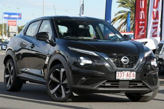 2020 Nissan Juke F16 ST-L DCT 2WD Pearl Black 7 Speed Sports Automatic Dual Clutch Hatchback.