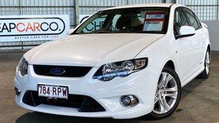 2010 Ford Falcon FG XR6 White 5 Speed Sports Automatic Sedan.