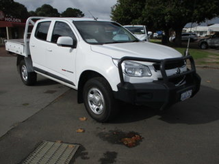 2016 Holden Colorado RG MY16 LS 4x4 White 6 Speed Automatic Dual Cab.