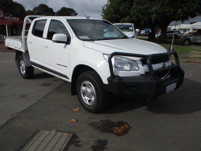 Used Holden Colorado RG MY16 Katanning, 2016 Holden Colorado RG MY16 LS 4x4 White 6 Speed Automatic Dual Cab