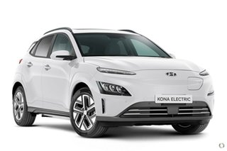 2021 Hyundai Kona Os.v4 MY21 electric Highlander White 1 Speed Reduction Gear Wagon