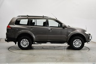 2015 Mitsubishi Challenger PC (KH) MY14 Brown 5 Speed Sports Automatic Wagon