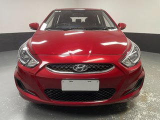 2018 Hyundai Accent RB6 MY19 Sport Pulse Red 6 Speed Sports Automatic Hatchback.