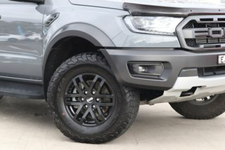 2019 Ford Ranger PX MkIII 2019.00MY Raptor Conquer Grey 10 Speed Sports Automatic Double Cab Pick Up