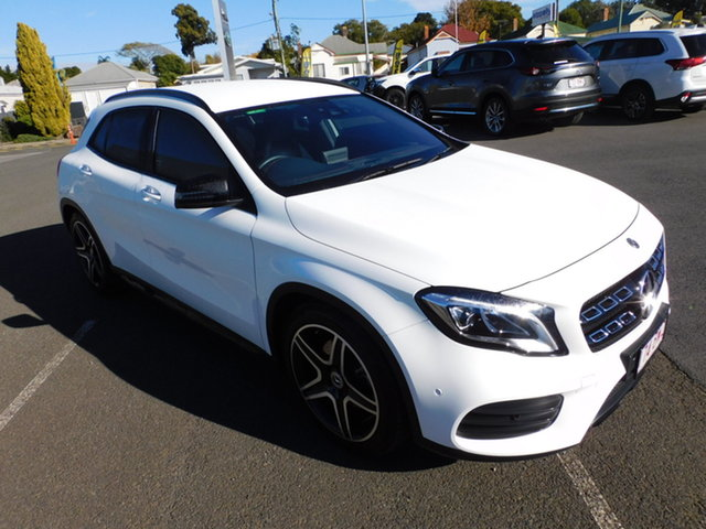 Used Mercedes-Benz GLA-Class X156 809+059MY GLA220 d DCT Toowoomba, 2019 Mercedes-Benz GLA-Class X156 809+059MY GLA220 d DCT White 7 Speed Sports Automatic Dual Clutch