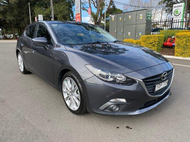 Used Mazda 3 BM5438 SP25 SKYACTIV-Drive Botany, 2015 Mazda 3 BM5438 SP25 SKYACTIV-Drive Grey 6 Speed Sports Automatic Hatchback