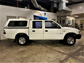 1999 Holden Rodeo TF R9 LX Space Cab 4x2 White 5 Speed Manual Cab Chassis