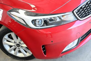 2016 Kia Cerato YD MY17 S Premium Red 6 Speed Sports Automatic Sedan.
