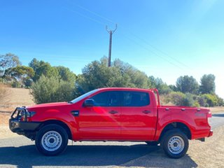 2015 Ford Ranger PX MkII XL Red 6 Speed Sports Automatic Utility