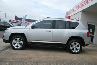 2012 Jeep Compass MK MY12 Sport (4x2) Silver Continuous Variable Wagon.