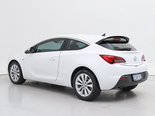 2015 Holden Astra PJ MY16 GTC White 6 Speed Automatic Hatchback
