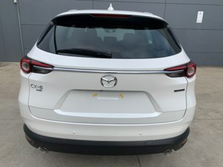 2021 Mazda CX-8 KG4W2A Asaki SKYACTIV-Drive i-ACTIV AWD Snowflake White 6 Speed Sports Automatic