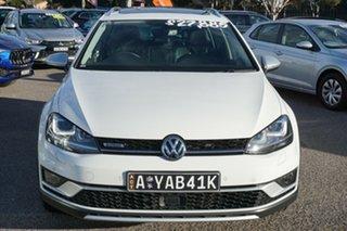 2016 Volkswagen Golf VII MY17 Alltrack DSG 4MOTION 132TSI White 6 Speed Sports Automatic Dual Clutch.