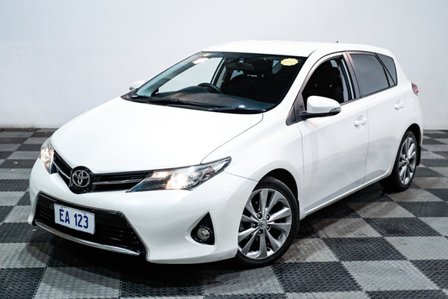 Used Toyota Corolla ZRE182R Levin S-CVT SX Edgewater, 2014 Toyota Corolla ZRE182R Levin S-CVT SX White 7 Speed Constant Variable Hatchback