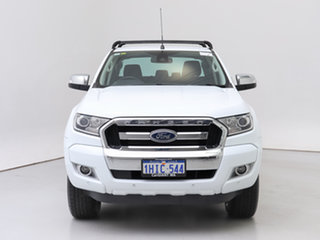 2017 Ford Ranger PX MkII MY17 Update XLT 3.2 Hi-Rider (4x2) White 6 Speed Automatic Crew Cab Pickup.