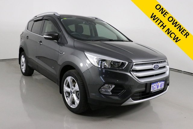 Used Ford Escape ZG MY19.25 Trend (AWD) Bentley, 2019 Ford Escape ZG MY19.25 Trend (AWD) Magnetic 6 Speed Automatic SUV