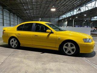 2005 Ford Falcon BA Mk II XR6 Yellow 5 Speed Manual Sedan.