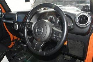 2013 Jeep Wrangler JK MY2013 Overland Orange 5 Speed Automatic Hardtop