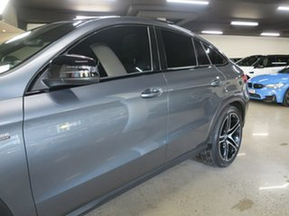 2018 Mercedes-Benz GLE-Class C292 MY809 GLE43 AMG Coupe 9G-Tronic 4MATIC Grey 9 Speed