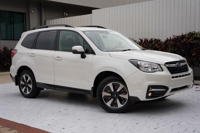Used Subaru Forester S4 MY18 2.0D-L CVT AWD Cairns, 2017 Subaru Forester S4 MY18 2.0D-L CVT AWD White 7 Speed Constant Variable Wagon