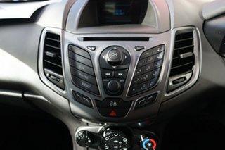 2014 Ford Fiesta WZ Ambiente White 6 Speed Automatic Hatchback