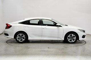 2016 Honda Civic 10th Gen MY16 VTi White 1 Speed Constant Variable Sedan