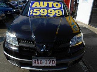 2005 Mitsubishi Outlander ZF LS Black 4 Speed Sports Automatic Wagon.