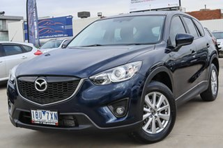 2014 Mazda CX-5 KE1021 MY14 Maxx SKYACTIV-Drive AWD Sport Blue 6 Speed Sports Automatic Wagon.
