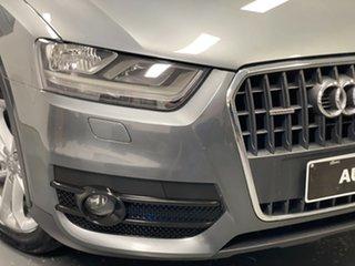 2013 Audi Q3 8U MY13 TFSI S Tronic Quattro Grey 7 Speed Sports Automatic Dual Clutch Wagon.