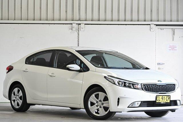 Used Kia Cerato YD MY17 S Laverton North, 2017 Kia Cerato YD MY17 S White 6 Speed Sports Automatic Sedan
