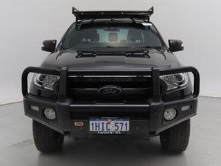 2016 Ford Ranger PX MkII Wildtrak 3.2 (4x4) Black 6 Speed Manual Dual Cab Pick-up.