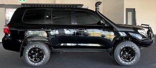 2013 Toyota Landcruiser VDJ200R MY13 GX Black 6 Speed Sports Automatic Wagon.