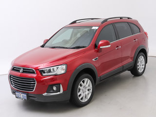 2016 Holden Captiva CG MY16 Active 7 Seater Red 6 Speed Automatic Wagon
