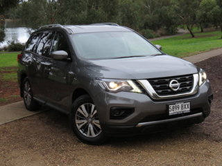 2018 Nissan Pathfinder R52 Series III MY19 ST X-tronic 4WD Grey 1 Speed Constant Variable Wagon.