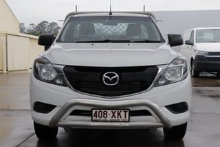 2017 Mazda BT-50 UR0YE1 XT 4x2 Cool White 6 Speed Manual Cab Chassis