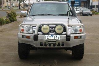 2004 Nissan Navara D22 ST-R (4x4) Silver 5 Speed Manual Dual Cab Pick-up.